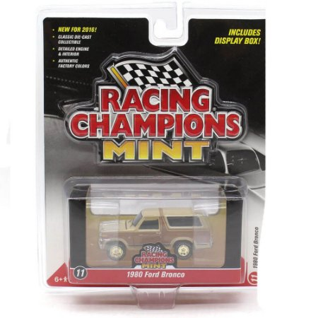 CHASE GOLD Ford Bronco 1980 1/64 Racing Champions Mint 2016 Series Release 1 Versão A