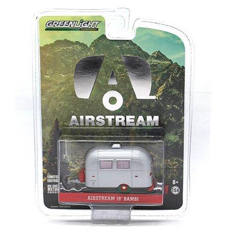 GREEN MACHINE Trailer Airstream 16 Bambi 1/64 Greenlight