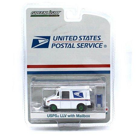 GREEN MACHINE USPS LLV With Mailbox United States Postal Service 1/64 Greenlight