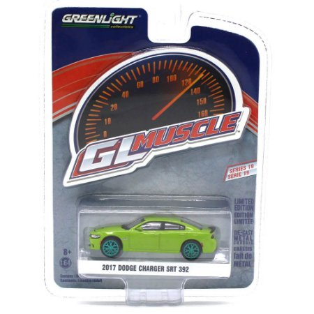 GREEN MACHINE Dodge Charger SRT 392 2017 1/64 Greenlight GL Muscle Series 19