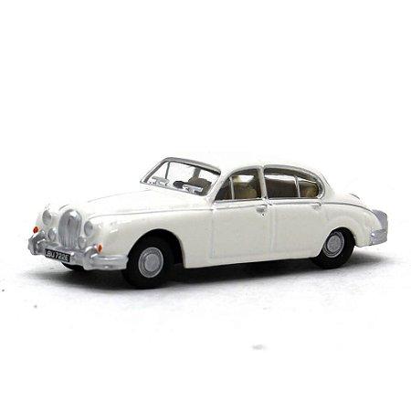 Jaguar MKII Old English Branco 1/76 Oxford Automobile Company