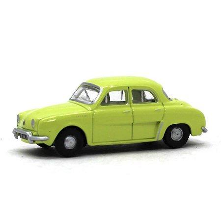 Renault Dauphine Amarelo 1/76 Oxford Automobile Company