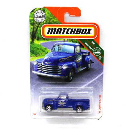 Chevrolet AD 3100 1947 1/64 Matchbox MBX Road Trip