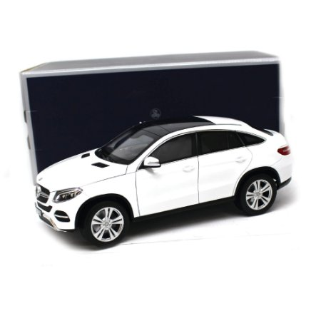 Mercedes Benz GLE Class Coupé 2015 Branco 1/18 Norev Collectors