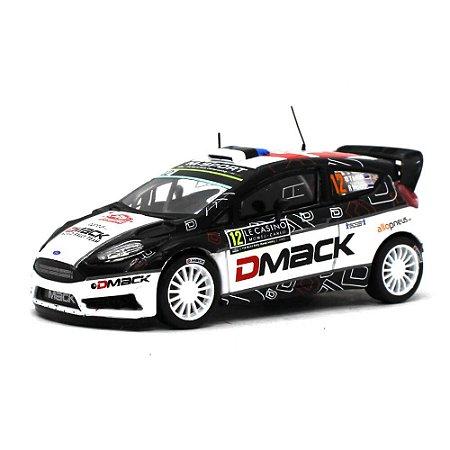 Ford Fiesta RS WRC DMACK N 12 Rally Montecarlo 2016 Ott Tänak e Raigo Molder 1/43 Ixo