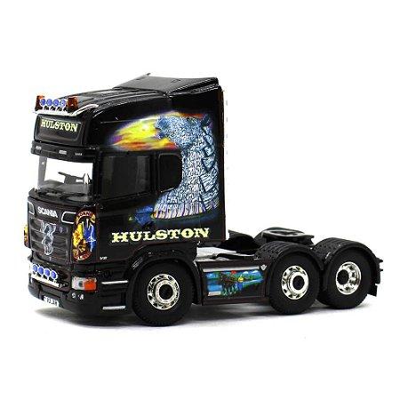 Caminhão Scania R Topline RHD John Hulston Haulage 1/50 Corgi Hauliers of Renown