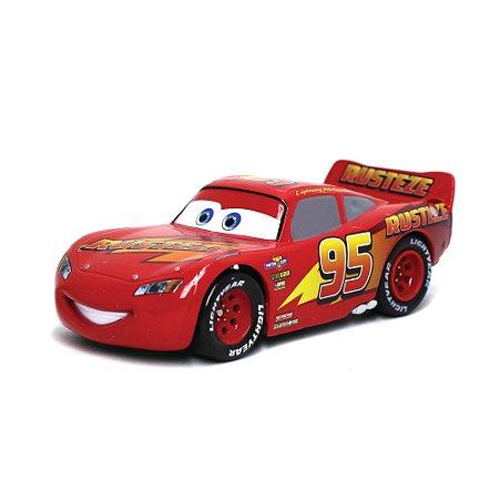 Relâmpago McQueen Disney Pixar Carros 1/43 Com Fricção