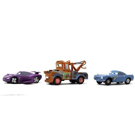 Agentes Secretos Holley Caixadibrita Finn McMíssil Mater Disney Pixar Carros 1/43 Com Fricção