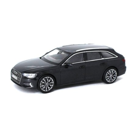Audi A6 Avant C8 2018 Cinza Escuro 1/43 IScale Audi Collection