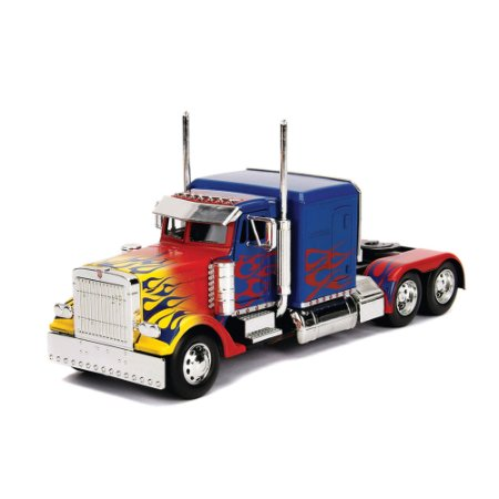 Optimus Prime Transformers 1/24 Jada Toys Hollywood Rides