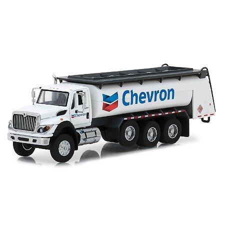 Caminhão Tanque International 2018 WorkStar Chevron SD Trucks Serie 5 1/64 Greenlight