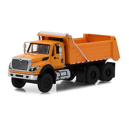 Caminhão Caçamba International 2018 WorkStar SD Trucks Serie 5 1/64 Greenlight