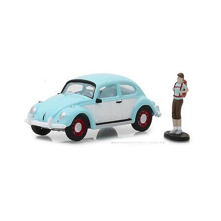 Volkswagen Fusca e Mochileiro The Hobby Shop Series 4 1/64 Greenlight