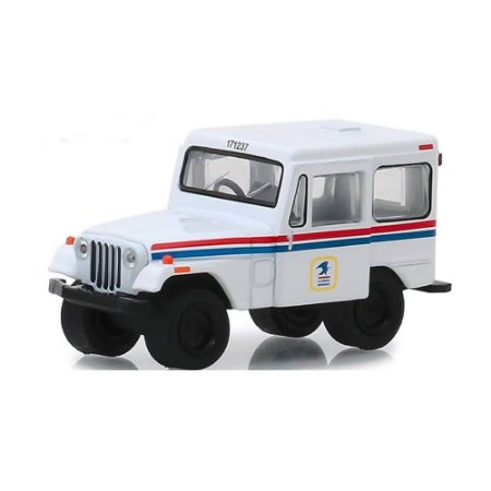 Jeep DJ5 1971 USPS United States Postal Service 1/64 Greenlight