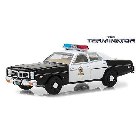 Dodge Monaco 1977 The Terminator O Exterminador do Futuro 1/64 Greenlight Hollywood Serie 19
