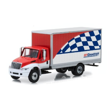 Caminhão Bau International DuraStar BFGoodrich HD Trucks Serie 13 1/64 Greenlight