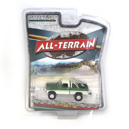 Ford F100 1971 All Terrain Serie 7 1/64 Greenlight