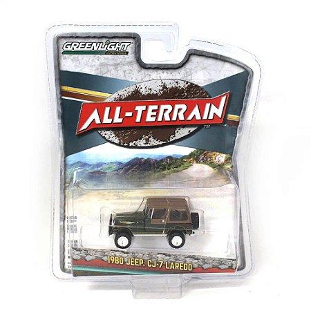 Jeep CJ7 Laredo 1980 All Terrain Serie 7 1/64 Greenlight