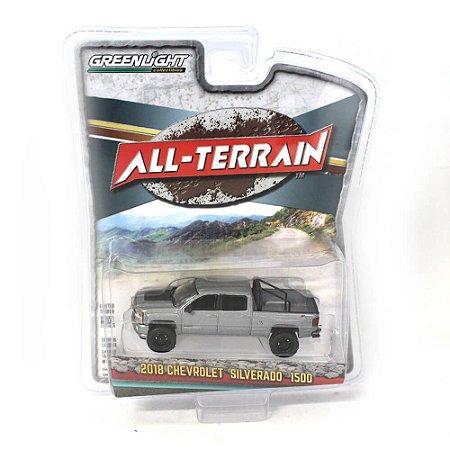 Chevrolet Silverado 1500 2018 All Terrain Serie 7 1/64 Greenlight