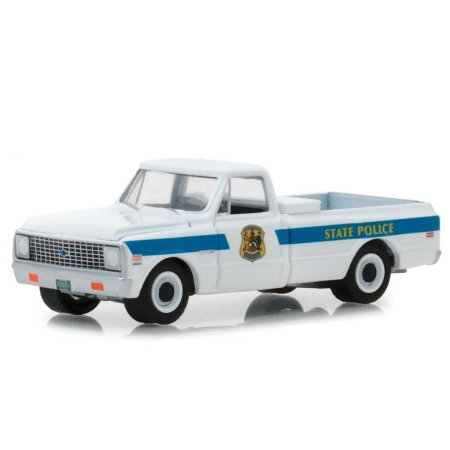 Chevrolet C10 Cheyenne 1972 Policia Hot Pursuit Serie 29 1/64 Greenlight