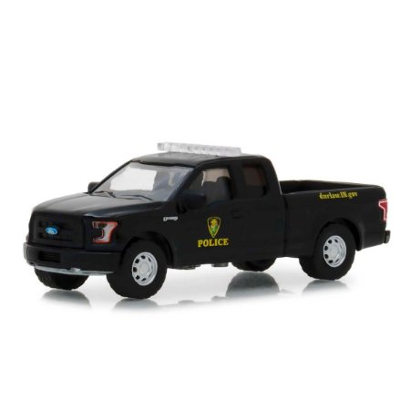 Ford F150 2017 Policia Hot Pursuit Serie 29 1/64 Greenlight