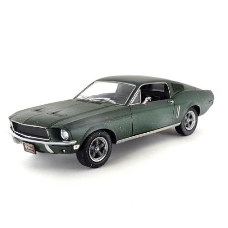 Ford Mustang GT Fastback 1968 Unrestored Steve McQueen Collection 1/24 Greenlight