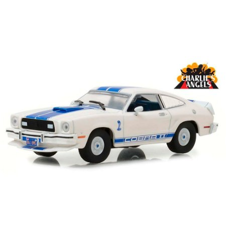 Ford Mustang II Cobra II 1976 Jill Munroe´s Charlie´s Angels As Panteras 1/43 Greenlight Hollywood