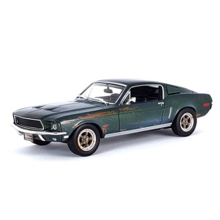 Ford Mustang GT Fastback 1968 Unrestored Steve McQueen Collection 1/43 Greenlight