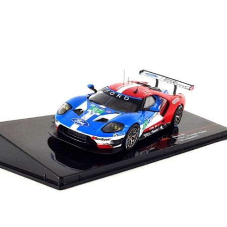 Ford GT 3.5L Turbo V6 Ford Chip Ganassi UK N 67 24h Le Mans 2017 Harry Tincknell Andy Priaulx Pipo Derani 1/43 Ixo
