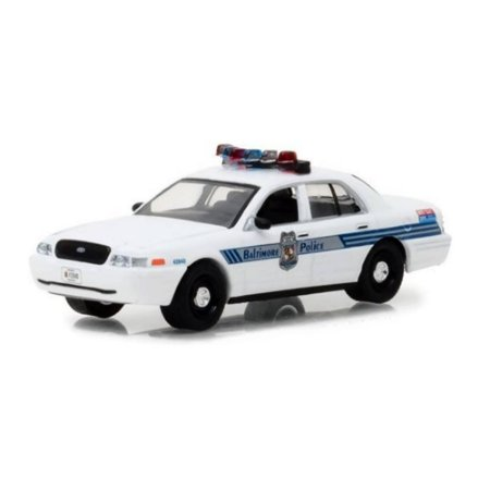 Ford Crown Victoria Interceptor 2008 Policia Hot Pursuit Serie 27 1/64 Greenlight