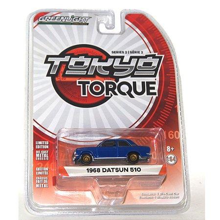 Datsun 510 1968 Tokyo Torque 1/64 Greenlight