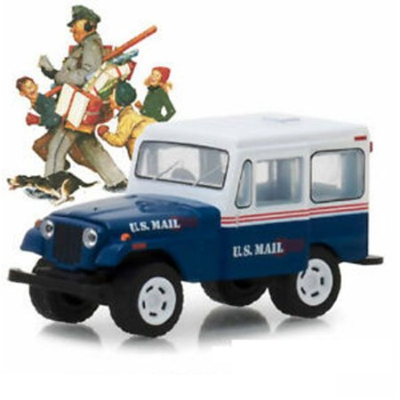 Jeep DJ-5 1971 Norman Rockwell 1/64 Greenlight