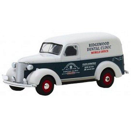 Chevrolet Panel Truck 1939 Norman Rockwell 1/64 Greenlight