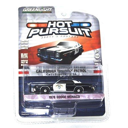 Dodge Monaco 1978 Hot Pursuit 1/64 Greenlight
