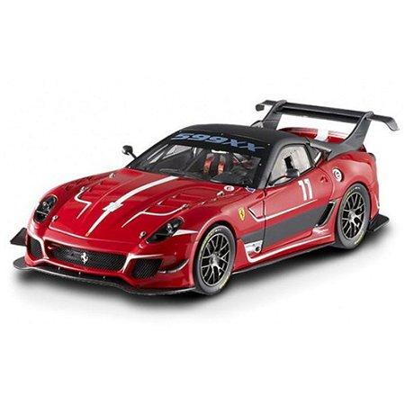 Ferrari 599 evo red 1:18 hot wheels elite bcj91