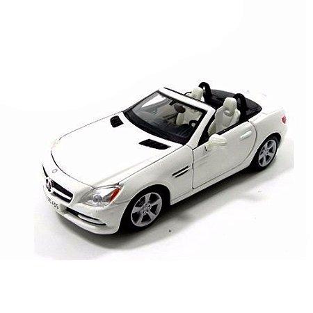 Mercedes-Benz Slk-Class BRANCO 1/24 Maisto