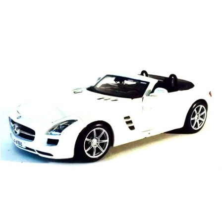 Mercedes-Benz Sls Amg Roadster BRANCO 1/24 Maisto