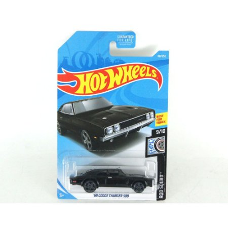 DODGE CHARGER 500 1969 1/64 HOTWHEELS