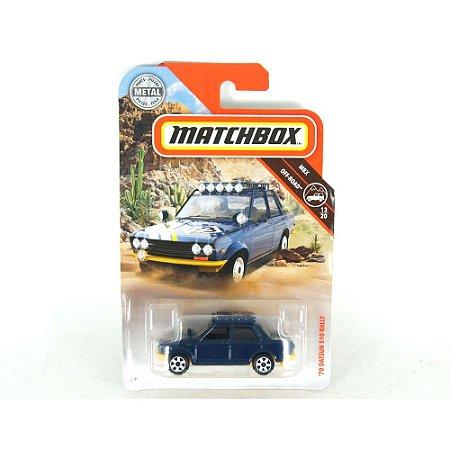 DATSUN 510 RALLY 1970 1/64 MATCHBOX