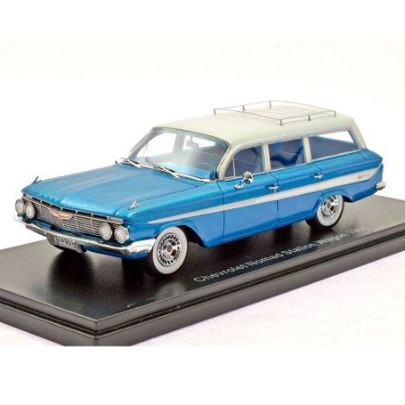 CHEVROLET NOMAD STATION WAGON AZUL METÁLICO 1/43 NEO