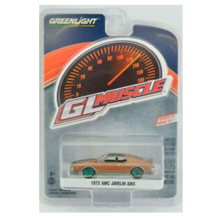 GREEN MACHINE AMC Javelin AMX 1972 1/64 Greenlight