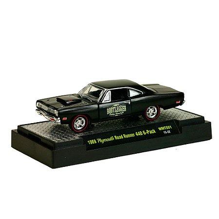 Plymouth Road Runner 440 6-Pack 1969 1/64 M2 Machines