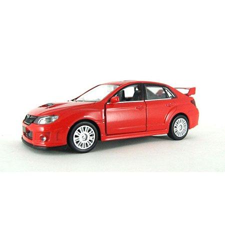 Subaru WRX STI Luz e Som 1/32 Hot Wheels