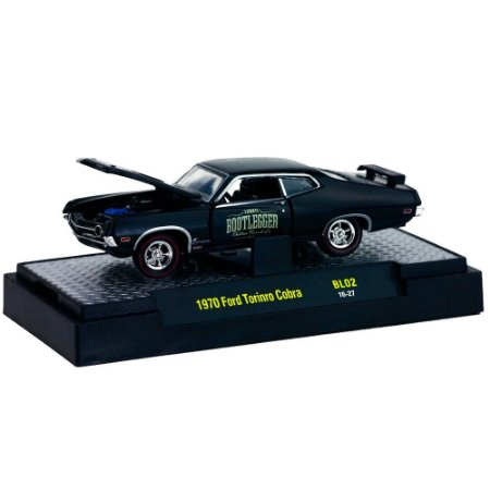 Ford Torino Cobra 1970 BOOTLEGGER 1/64 M2 Machines