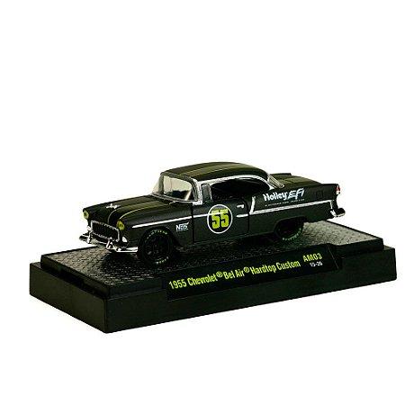 Chev Bel Air Hardtop 1955 DETROIT-MUSCLE 1/64 M2 Machines
