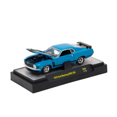 Ford Mustang Boss 1970 DETROIT-MUSCLE 1/64 M2 Machines
