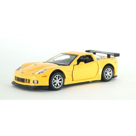 Chevrolet Corvette C6-R Amarelo Luz e Som 1/32 Hot Wheels