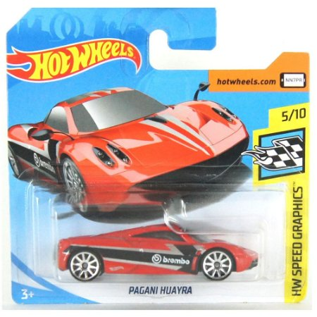 Pagani Huayra HW Speed Graphics 1/64 Hotwheels