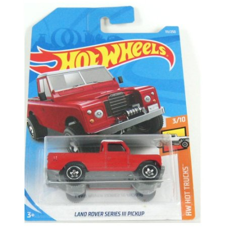 Land Rover Series III Pickup HW Hot Trucks 1/64 HotWheels