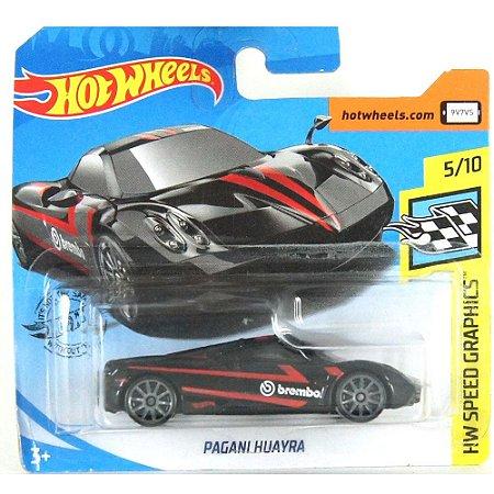 Pagani Huayra HW Speed Graphics 1/64 HotWheels